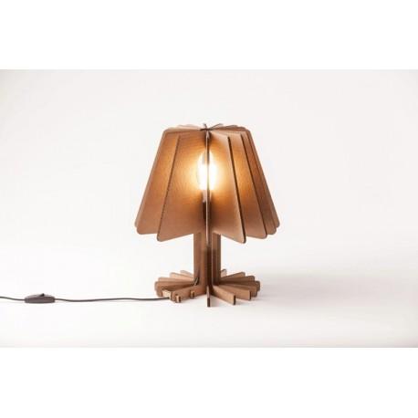 Lámpara de Mesa Cartón